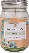Parfumuri și produse cosmetice Ароматическая свеча в банке - Accentra Botanic Spa Lemongrass Scented Candle
