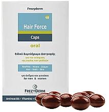 Parfumuri și produse cosmetice Supliment alimentar pentru întărirea părului - Frezyderm Hair Force Caps