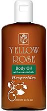 Parfumuri și produse cosmetice Ulei cu extract de citrice pentru corp - Yellow Rose Body Oil Hesperides