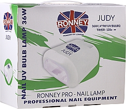 Духи, Парфюмерия, косметика Лампа для ногтей UV, розовая - Ronney Profesional Judy UV 36W (GY-UV-230) Lamp
