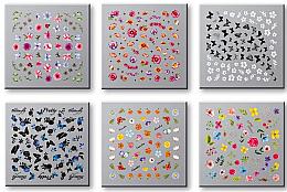 Parfumuri și produse cosmetice Abțibilduri pentru unghii 42751 - Top Choice Nail Decorations Stickers Set