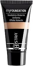 Parfumuri și produse cosmetice Fond de ten - Astra Make-Up My Foundation Natural Effect