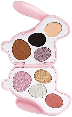 Paletă fard de ochi - I Heart Revolution Bunny Blossom Palette