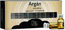 Parfumuri și produse cosmetice Elixir-fiole pentru păr - PostQuam Argan Fragile Hair Elixir