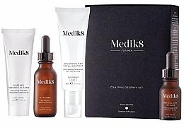 Parfumuri și produse cosmetice Set - Medik8 CSA Philosophy Kit For Men (clencer/40ml + f/cer/30ml + f/cr/50ml +f/ser/15ml)