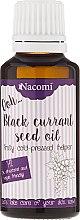 Parfumuri și produse cosmetice Ulei cu coacăză neagră pentru piele uscată și sensibilă - Nacomi