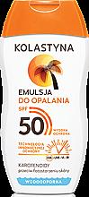 Parfumuri și produse cosmetice Emulsie de protecție solară SPF50 - Kolastyna