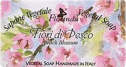 """Parfumuri și produse cosmetice Săpun natural """"Flori de piersic"""" - Florinda Sapone Vegetal Soap Peach Blossom"""