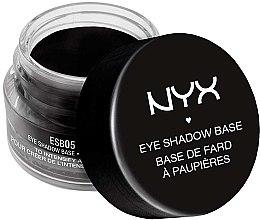 Parfumuri și produse cosmetice Bază neagră pentru fard de pleoape - NYX Professional Makeup Eyeshadow Base Black