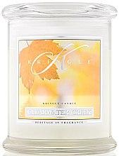 Parfumuri și produse cosmetice Lumânare parfumată (borcan) - Kringle Candle Clearwater Creek
