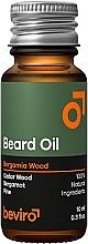 Parfumuri și produse cosmetice Ulei pentru barbă - Beviro Beard Oil Bergamia Wood