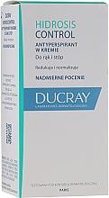 Parfumuri și produse cosmetice Antiperspirant cremă pentru mâini și picioare - Ducray Hidrosis Control Antiperspirant Cream