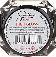Parfumuri și produse cosmetice Gel de unghii - Semilac UV Gel Expert Hight Gloss