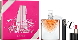 Parfumuri și produse cosmetice Lancome La Vie Est Belle L'Eclat - Set (edp/50ml + rouge/1.6g + mascara/2ml)