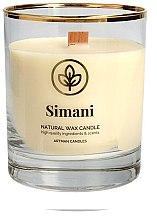 Parfumuri și produse cosmetice Lumânare aromată, 8x9.5 cm - Artman Simani