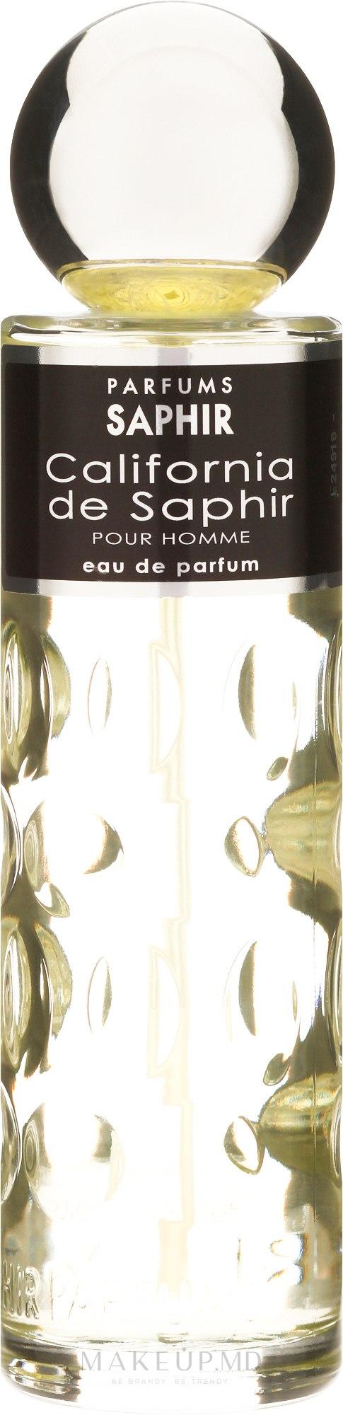 Saphir Parfums California - Apă de parfum — Imagine 200 ml