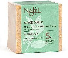 Parfumuri și produse cosmetice Săpun Aleppo cu ulei de laur 5% - Najel Aleppo Soap 5% Bay Laurel Oil