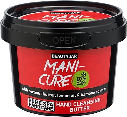 Ulei de mâini - Beauty Jar Mani-Cure Hand Cleansing Butter — Imagine N1