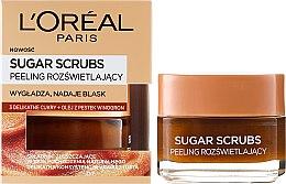 Parfumuri și produse cosmetice Scrub cu zahar pentru față - L'Oreal Paris Sugar Scrubs