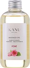 "Parfumuri și produse cosmetice Ulei de masaj ""Trandafir"" - Kanu Nature Rose Massage Oil"