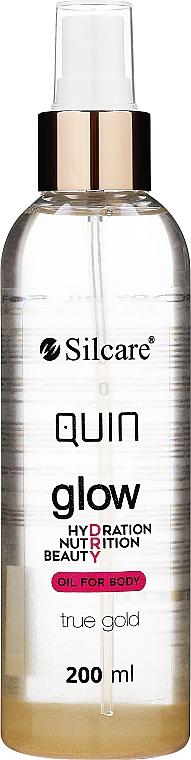 Ulei de corp - Silcare Quin Glow Dry Oil for Body True Gold