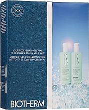 Parfumuri și produse cosmetice Set - Biotherm Biosource (face/milk/400ml + face/milk/400ml)