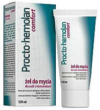 Parfumuri și produse cosmetice Gel de curățare pentru hemoroizi - Aflofarm Procto-Hemolan Comfort Cleaning Gel