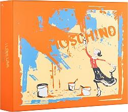 Духи, Парфюмерия, косметика Moschino I Love Love - Набор (edt/50ml + b/lot/100ml + sh/gel/100ml)
