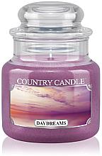 "Parfumuri și produse cosmetice Lumânare aromată ""Dreams"" (borcan) - Country Candle Daydreams"