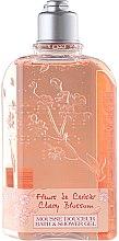 Parfumuri și produse cosmetice Gel de duș - L'Occitane Cherry Blossom Bath & Shower Gel