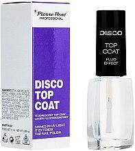 Parfumuri și produse cosmetice Fixator fluorescent de unghii - Pierre Rene Disco Top Coat Fluo Effect