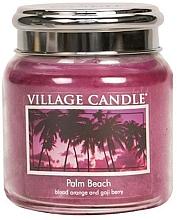 "Parfumuri și produse cosmetice Lumânare parfumată ""Palm Beach "" - Village Candle Palm Beach"