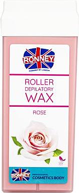 """Ceară depilatoare, cartuș """"Rose"""" - Ronney Wax Cartridge Rose"""