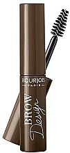 Parfumuri și produse cosmetice Gel pentru sprâncene - Bourjois Brow Design Gel Mascara