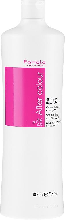 Șampon pentru păr vopsit - Fanola After Colour-Care Shampoo