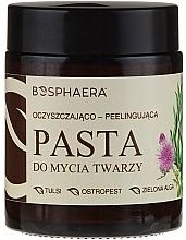 Parfumuri și produse cosmetice Peeling-pastă cu alge verzi pentru curățarea tenului - Bosphaera