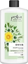 "Parfumuri și produse cosmetice Balsam de corp ""Ovăz. Nutriție și Elasticitate"" - Polka Body Balm"