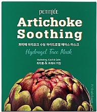 Parfumuri și produse cosmetice Mască hydrogel cu extract de anghinare - Petitfee&Koelf Artichoke Soothing Face Mask