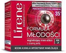 Parfumuri și produse cosmetice Cremă de noapte pentru față - Lirene Formula of Youth 35+