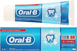 Parfumuri și produse cosmetice Pastă de dinți pentru copii - Oral-B Junior Toothpaste