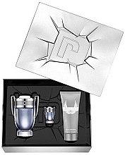 Parfumuri și produse cosmetice Paco Rabanne Invictus - Set (edt/100 ml + edt/5 ml + shm/100 ml)