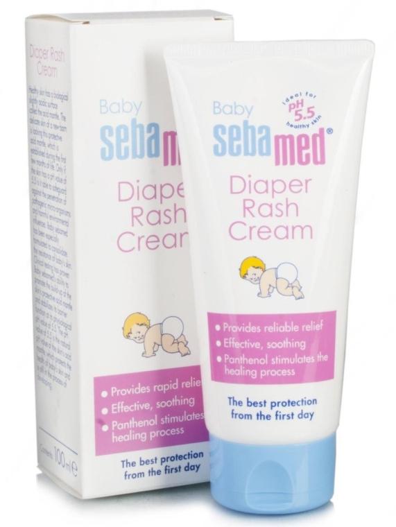 Крем под подгузник - Sebamed Baby Rash Cream