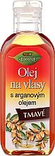 Parfumuri și produse cosmetice Ulei pentru păr brunet, keratină + argan - Bione Cosmetics Keratin + Argan Oil