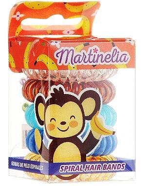"""Elastice de păr """"Maimuță"""", 5 bucăți - Martinelia"""