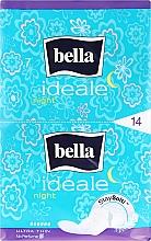 Духи, Парфюмерия, косметика Absorbante Ideale Ultra Night StaySofti, 14 bucăți - Bella