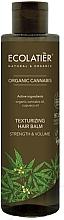 Parfumuri și produse cosmetice Balsam pentru volumul părului - Ecolatier Organic Cannabis Texturizing Hair Balm