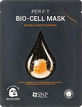 Parfumuri și produse cosmetice Mască de bioceluloză cu extract de propolis - SNP Double Moisturizing Bio-Cell Mask