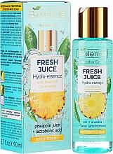 Parfumuri și produse cosmetice Esență pentru față - Bielenda Fresh Juice Brightening Hydro Essence Pineapple