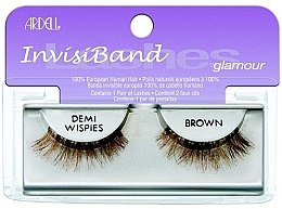 Parfumuri și produse cosmetice Extensii gene - Ardell Invisibands Demi Wispies Brown
