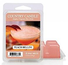 Parfumuri și produse cosmetice Ceară aromată - Country Candle Peach Bellini Wax Melts